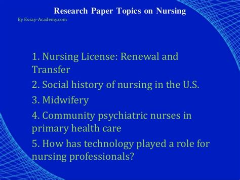 thesis about nursing education research papers technology and nursing