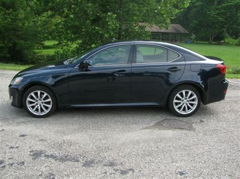 the new car 2006 lexus is 250 no key needed just have buy used 2006 lexus is 250 no reserve dark blue with