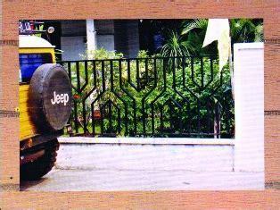 Jual pagar besi minimalis PB 406 Bali   Tukang las bali
