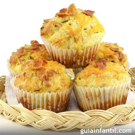 cupcakes salados recetas muffins salados de jam 243 n y queso