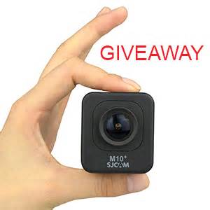 Free Camera Giveaway - free action cam giveaways each month