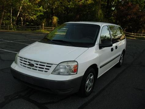 how does cars work 2004 ford freestar on board diagnostic system purchase used 2004 ford freestar cargo van auto ex ge great work van no reserve in