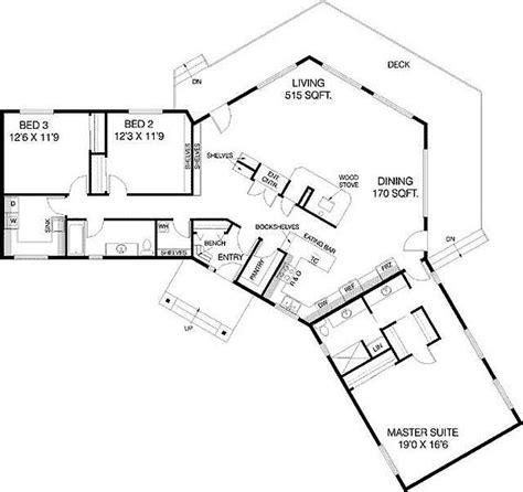 u shaped houses 2 bedroom plan 77135ld c shaped floor plan house plans house and
