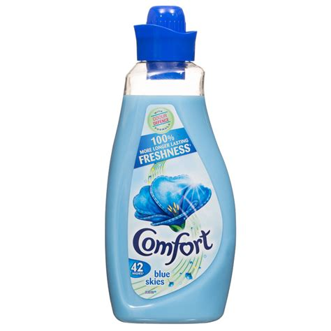 comfort detergent products b m comfort blue skies fabric conditioner 1 5l 282378 b m