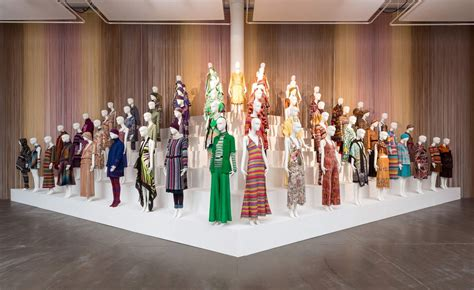Of Fashion Exhibition by Missoni Colour The Fashion House Shines A Light On