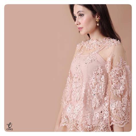Dress Brukat simple sleeve lace top kebaya modern indonesia brokat http www eiwaonline lace top