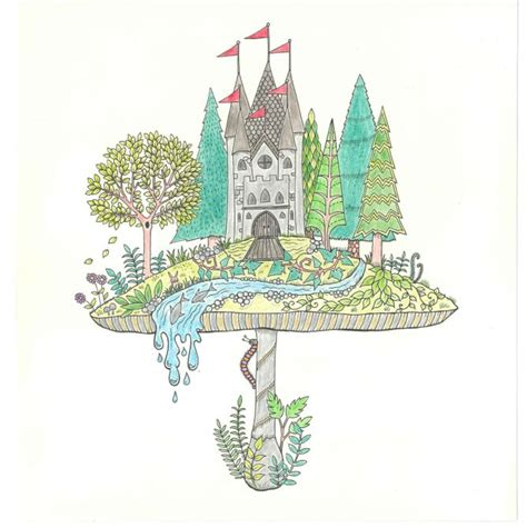 secret garden coloring book colored johanna basford enchanted forest secret garden addictive