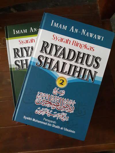 Buku Riyadhus Shalihin Imam An Nawawi Ummul Qura syarah ringkas riyadhus shalihin buku islam net buku islam net
