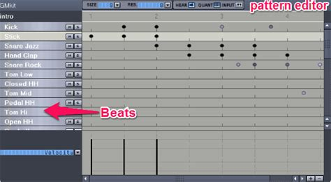 drum pattern editor free drum programming software for windows