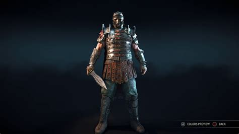 Savia Set for honor centurion 3 complete armor sets gallaecia samnium savia