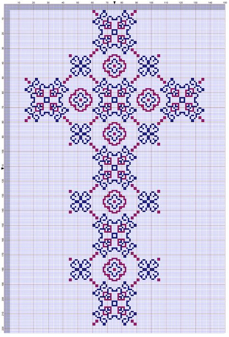 free pattern in cross stitch large cross free cross stitch pattern