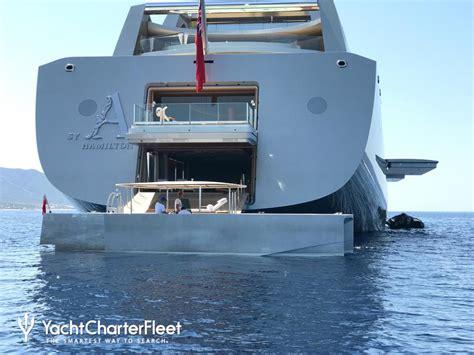 yacht boat photos sailing yacht a yacht photos nobiskrug yacht charter fleet