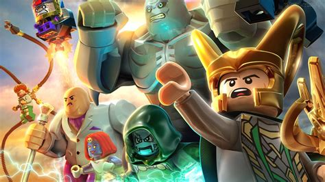 lego marvel super heroes  wallpapers images