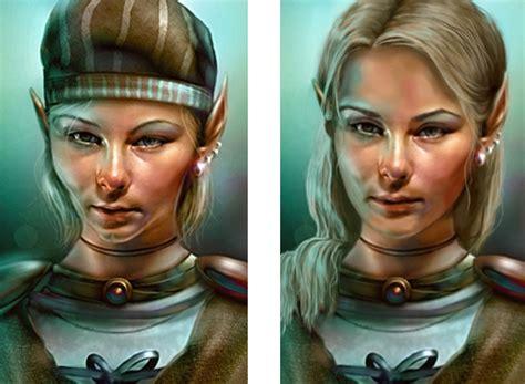 Safana By Be Glow repainted edited portraits for coran safana imoen rasaad dorn and beamdog forums