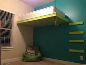suspended bed suspended bed kids rooms pinterest