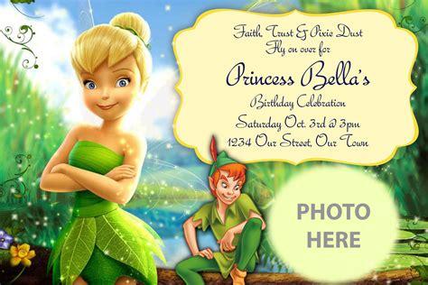 Tinkerbell Birthday Invitations   marialonghi.Com