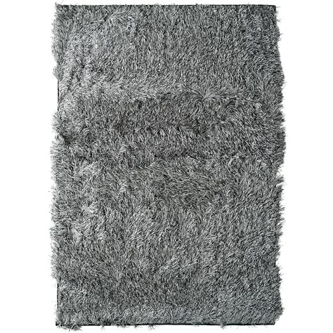 Discount Shag Area Rugs Salt Pepper Rebel Shag 3 Ft X 5 Ft Area Rug Reb3x5sp Canada Discount Canadahardwaredepot