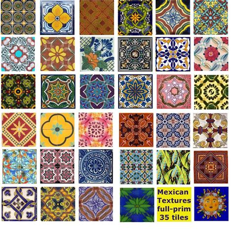 mexican pattern artist mexican tiles oh look at the pretty colors and designs