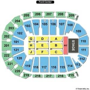 Ford Center Seating Ford Center Evansville Seating Charts