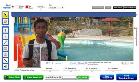 cara membuat foto facebook cara membuat foto profil dan foto sul facebook yang