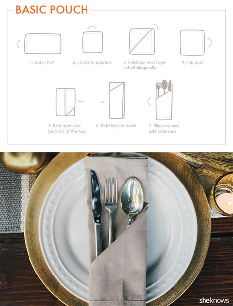 7 basic table napkin folding 9 creative napkin folds for every type of hostess tutorial