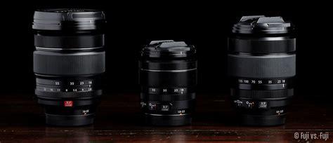 Fujifilm Xt2 Xf 18 55mm F28 4 fuji 16 55mm f 2 8 vs 18 55mm f 2 8 4 vs 18 135mm f 3 5 5 6 fuji vs fuji