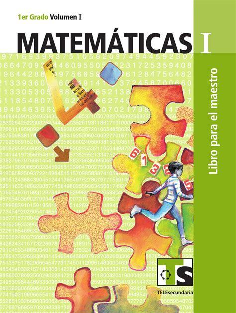 el libro de matematicas de decimo ao 2016 2017 maestro matem 225 ticas 1er grado volumen i by rar 225 muri issuu