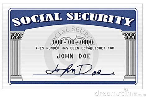 social security card template photoshop software social security card royalty free stock images image