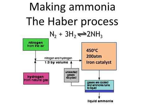 haber bosch process diagram 10 interesting facts about ammonia 10 interesting facts
