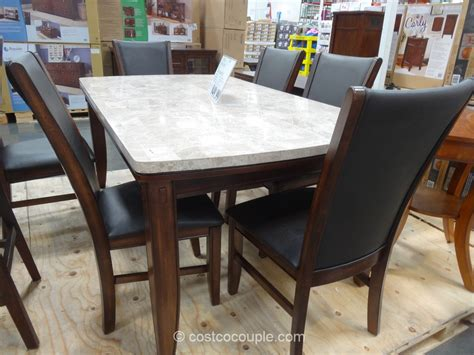 costco dining room furniture dining room tables costco image mag