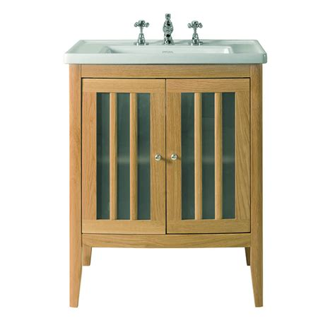 Wood Bathroom Vanity Units Imperial Radcliffe Linea Vanity Unit With Wood Or Frosted Glass Doors