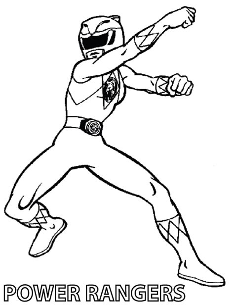 mighty morphin power rangers coloring pages az coloring