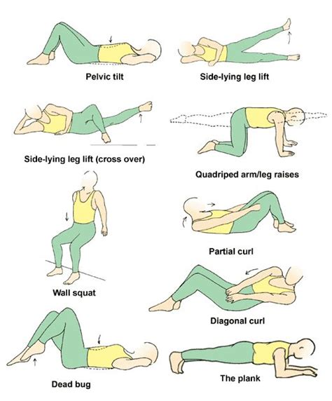 1000 images about home workouts for knee recovery on