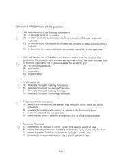 George Brown Course Outlines by Acct 1001 Gbc Page 1 Course