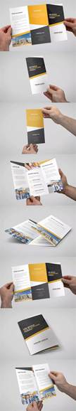 letter size brochure template 25 best ideas about tri fold brochure template on