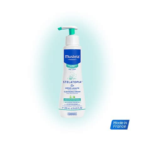 Mustela Cleansing 200 Ml mustela stelatopia gel de ba 209 o cleansing 200ml