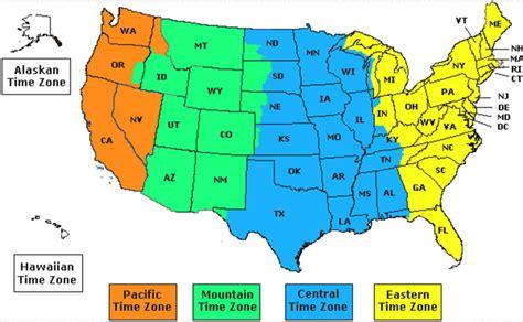 usa time zone map arizona time zone arizona map