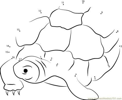 dot to dot turtle printable nervous turtle dot to dot printable worksheet connect