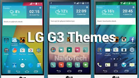 best themes for lg g3 homescreen launcher naldotech