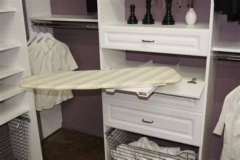 Closet Ironing Board by Pull Out Ironing Board Closet Houston By Spaceman Home Office