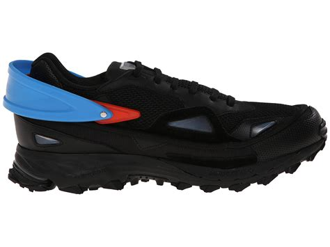adidas by raf simons ozweego sneakers in black for lyst