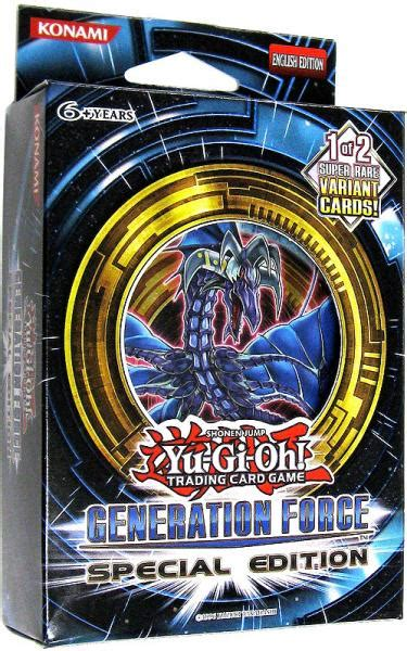 Dia Generation Special Version yugioh generation special edition pack on sale at toywiz