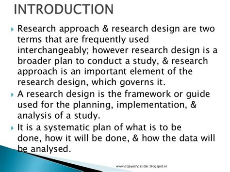 How To Make An Introduction For A Research Paper - introduction to research design