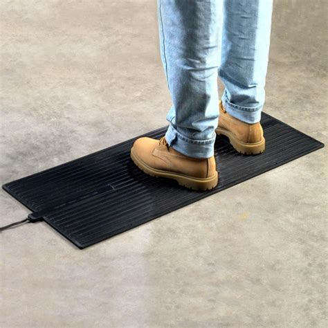heated floor mat heavy duty foot warmer are electric - Heated Rubber Floor Mats