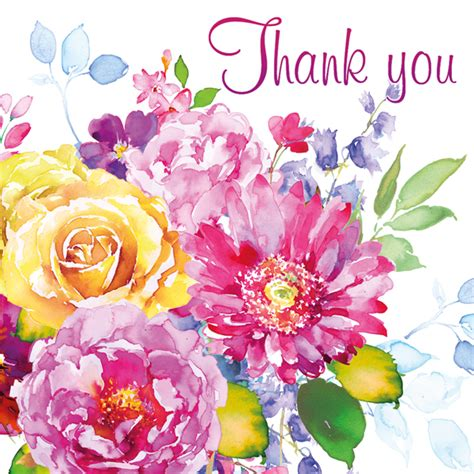 Thank You Flowers by Thank You Card Flowers Oak Tree Homes Trust
