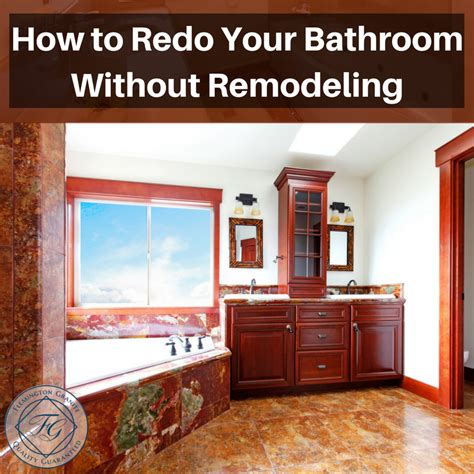 how to redo your bathroom how to redo your bathroom without remodeling flemington granite