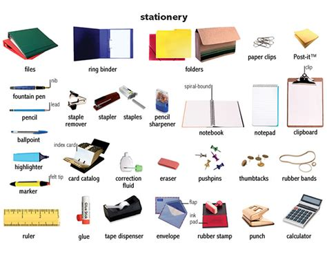 Office Supplies Definition Ring Binder Noun Definition Pictures Pronunciation And