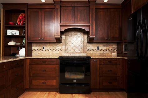 dark kitchen cabinets with black appliances kitchens with black appliances and oak cabinets 4368
