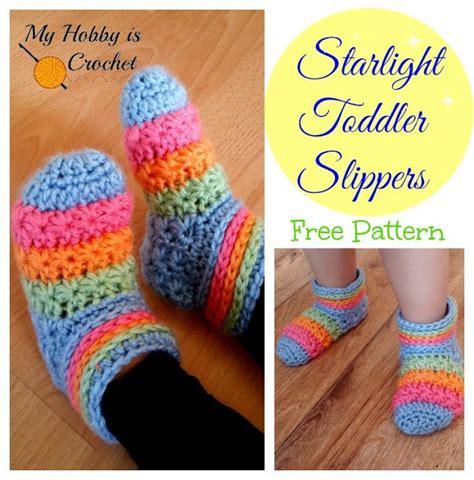 crochet pattern toddler socks wonderful diy crochet starlight slippers with free pattern