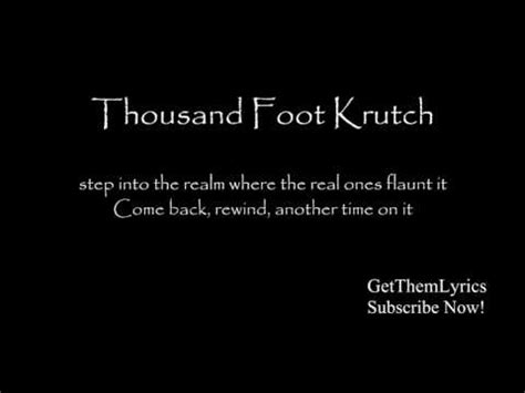Thousand Foot Krutch Made In - thousand foot krutch welcome to the masquerade lyrics
